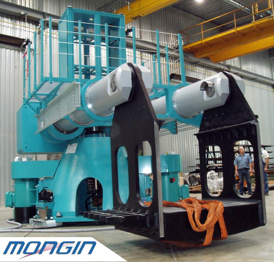 Ensemble mécanique pour un client dans l'industrie pétrolière.