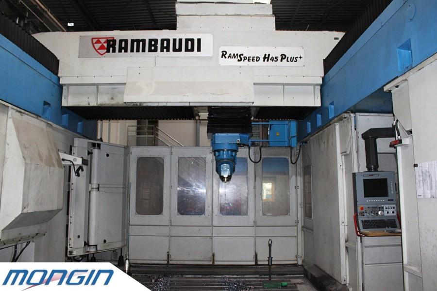 Rambaudi-fraiseuse-5-axes pour fraisage de grosses capacités