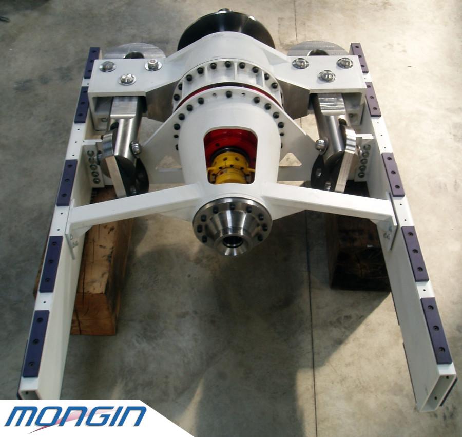 Réalisation et montage d'un sous ensemble mécaniquement très précis pour un client pétrolier