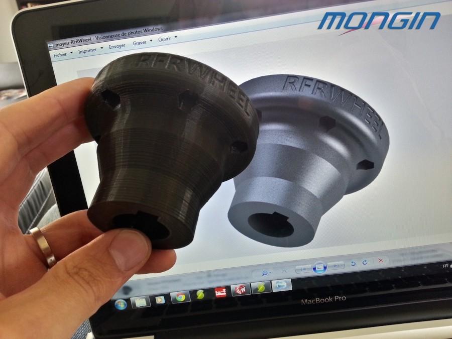 pièce en fabrication additive pour l'automobile