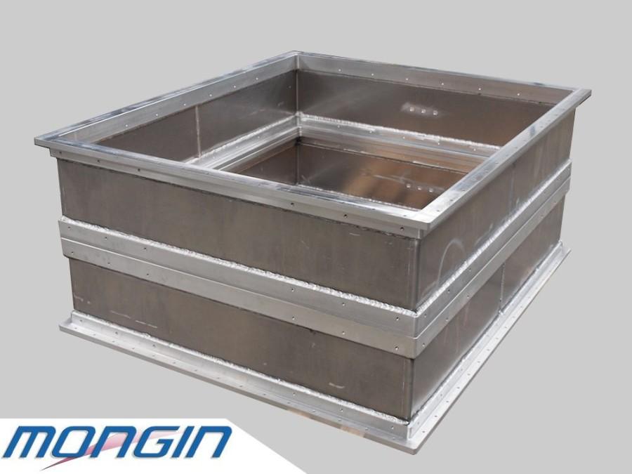 Bâti mécano soudure et structure mécano-soudée aluminium