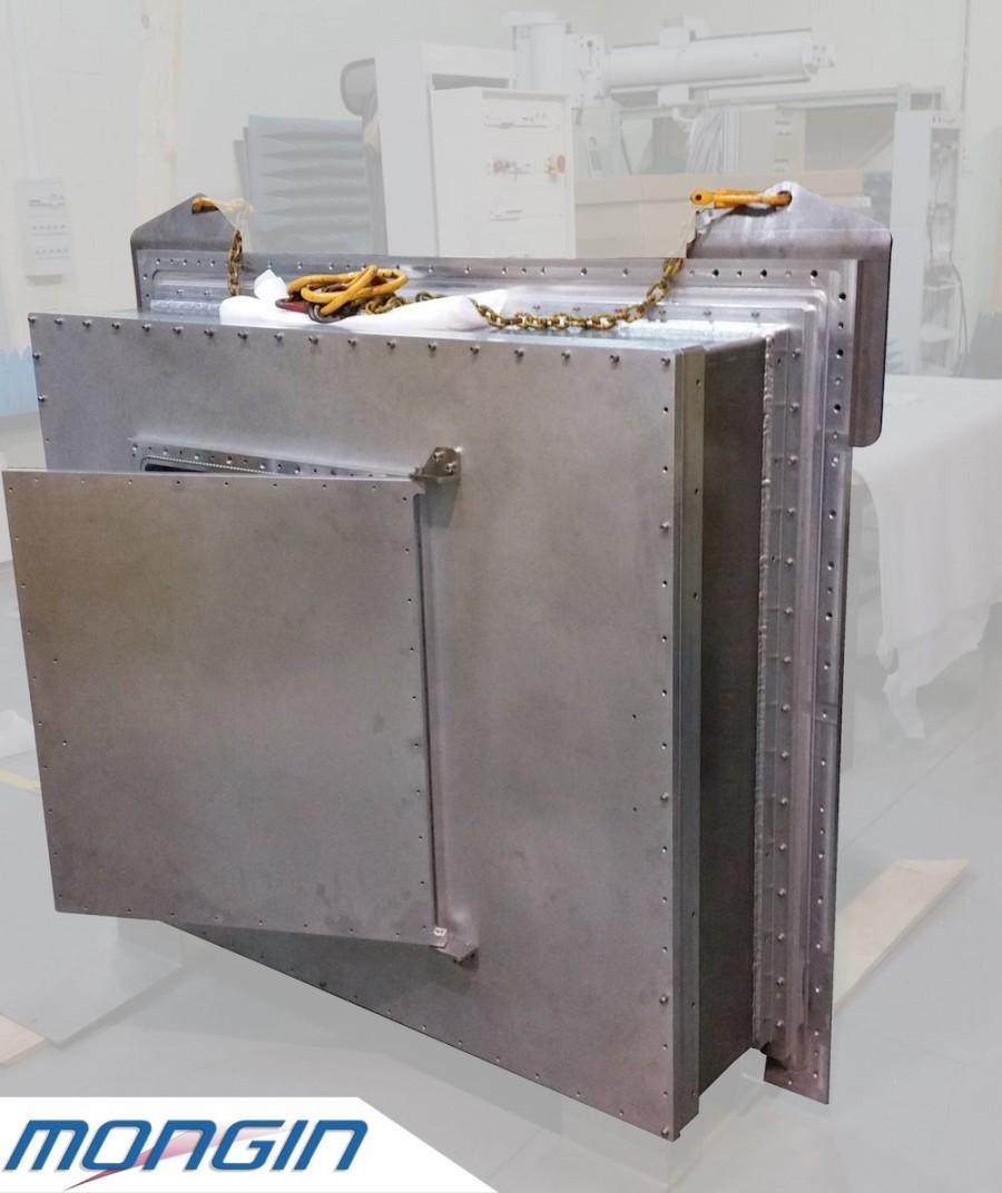 Ensemble mécano-soudé aluminium / usiné