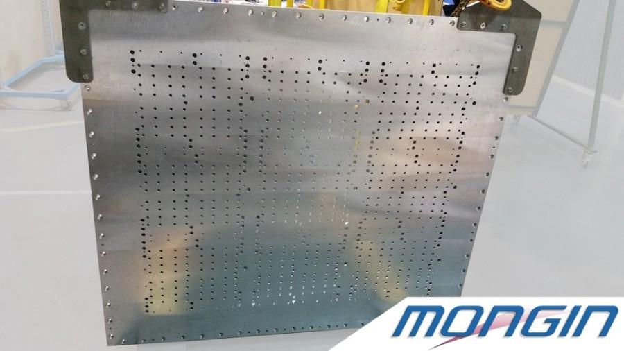 Structure mécano-soudée aluminium / usinée