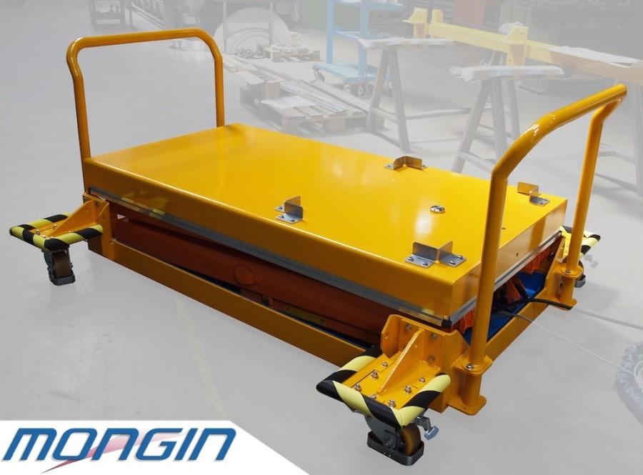 Table élévatrice industrielle pour charge lourde