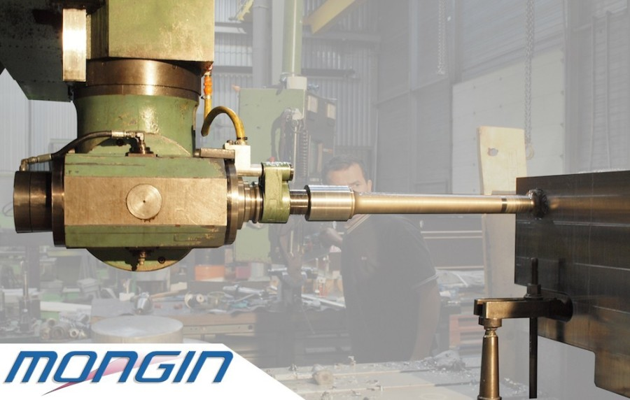 Industrial precision mechanical drilling