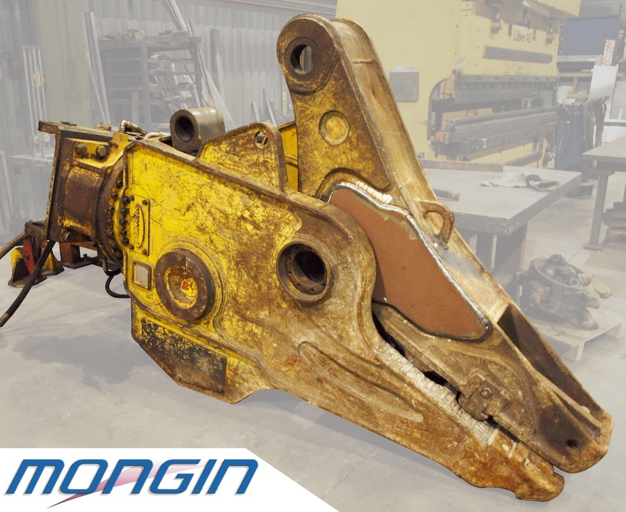 Repair construction machinery, but also for agricultural machines