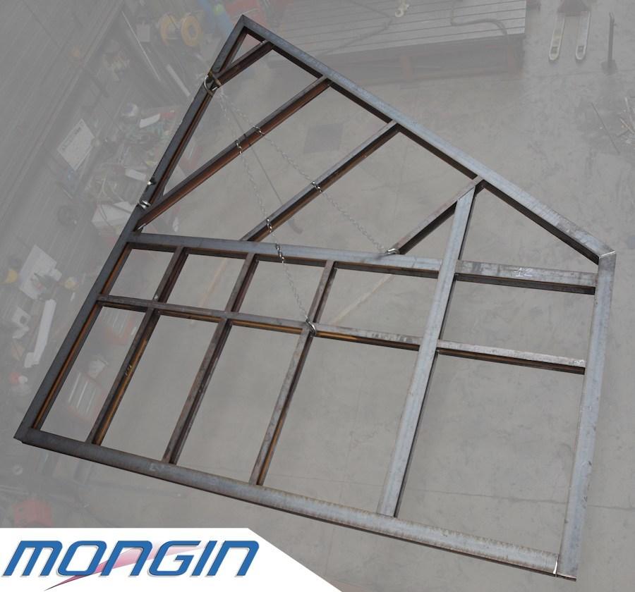 Structure mecano soudée grande dimension, réalisation Mongin Grigny France